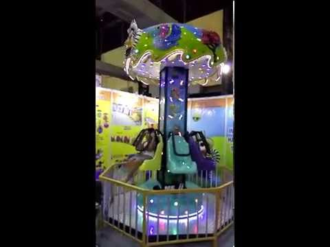 Happy Planet Tower Amusement Ride
