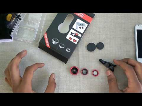 [Hindi] Unboxing of Universal Clip Lens – Review & First Look