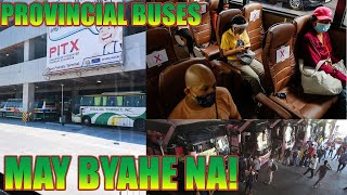 PROVINCIAL BUSES MAY BYAHE NA - LTFRB WILL OPEN 12 PROVINCIAL BUS ROUTES STARTING SEPTEMBER 30, 2020