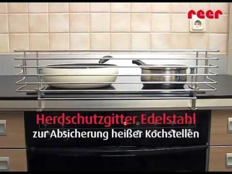 Vorschau: Herdschutzgitter Edelstahl 60 cm