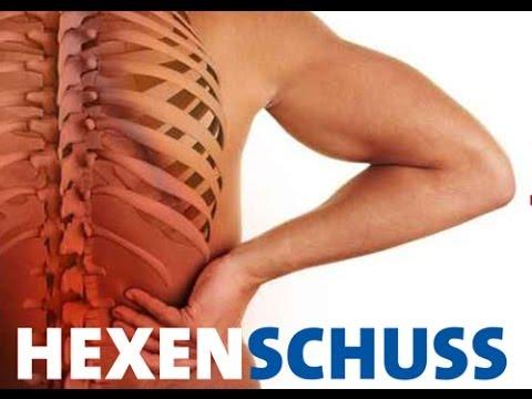 Produlo die Rückenschmerz und in den Schulterblättern