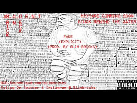 Slim Bricks- Fake (Explicit) (Prod. By Slim Bricks)