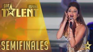 Cristina Ramos, ¡ya es una estrella!   Semifinales 3   Got Talent España 2016