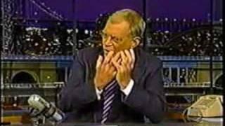 Video preview of a David Letterman Clip