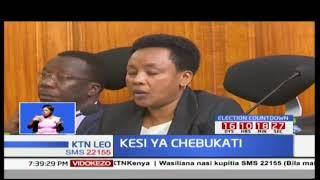 Ombi la mwenyekiti wa tume ya IEBC Wafula Chebukati itasikizwa Oktoba 11