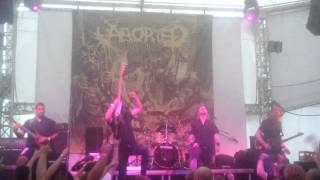 Aborted - The Holocaust Incarnate (Live at Green Theatre, Kiev, 24.06.2013)