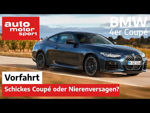 BMW 4er Coupé (G22):  Schickes Coupé oder Nierenversagen? – Vorfahrt (Review) |auto motor und sport