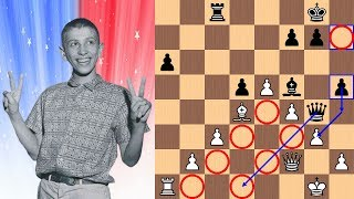 14-year-old Bobby Fischer vs Dr. Max Euwe | The