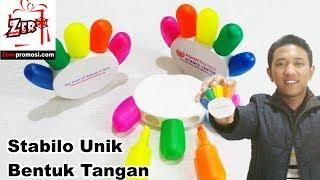 Souvenir Stabilo Unik Bentuk Tangan Review by zeropromosi.com