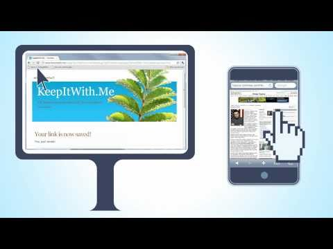 KeepItWith.Me Offers Dead Simple URL-Sharing Between Devices
