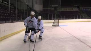 Adult Hockey Skill of the Month: Body Angling