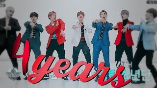 4 YEARS WITH BTS (+asianfanfic collab in desc!)