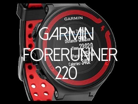 Garmin Forerunner 220 Unboxing + Review