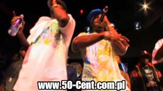 "50 Cent & G Unit & Young Buck performing "" I'm Supposed To Die Tonight "" live ( X Bar - Bronx ) [HD]"