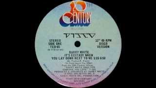 Barry White - It's Ecstacy (Getdownedits)