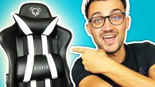 Guter und günstiger Gaming Stuhl!   Diablo Chairs Test! X-One