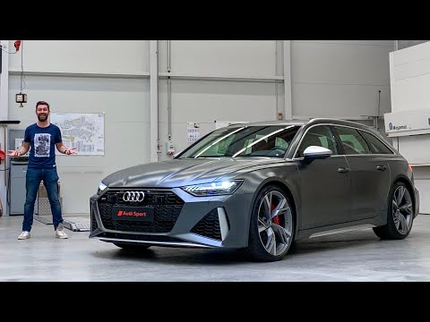 NEW Audi RS6 Avant 2020 - FIRST LOOK!
