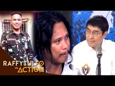 [Raffy Tulfo in Action]  BODYGUARD NG VIP NG SIKAT NA NETWORKING NA MOST WANTED, SUMUKO KAY IDOL RAFFY!