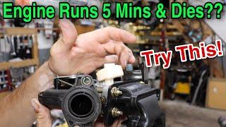 Engine Runs 5 Mins Then Dies & Restarts?? Try This!