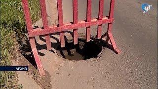Задержан подозреваемый в серии хищений крышек канализационных люков