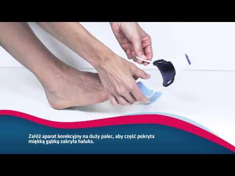Co można leczyć kość na piechotę na palucha