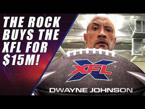 Dwayne The Rock Johnson Buys the XFL!