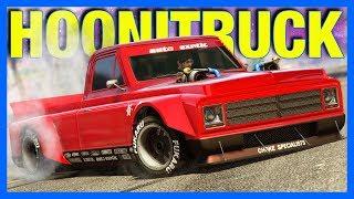GTA 5 Online Casino Heist : V8 HOONITRUCK!! (Drift Yosemite Customization)