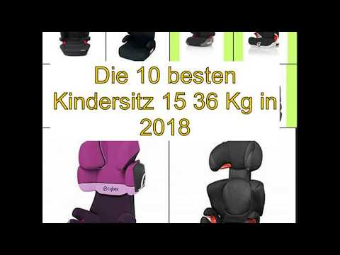 Die 10 besten Kindersitz 15 36 Kg in 2018