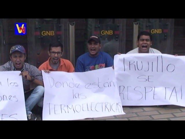 Protestaron en Corpoelec Valera
