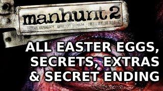 Manhunt 2 All Easter Eggs, Secrets, Extra & Alternate Ending HD