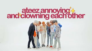 Ateez Annoying And Clowning Each Other