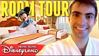 HONG KONG DISNEYLAND HOTEL ROOM TOUR
