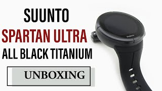 Suunto Spartan Ultra All Black Titanium Unboxing HD (SS022655000)