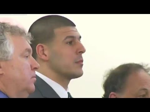 Aaron Hernandez sentenced for first-degree murder