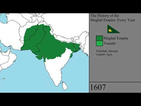 The History Of The Mughal Empire Every Year Emperortigerstar