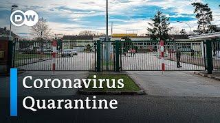 Inside Germany's coronavirus quarantine camp | DW News
