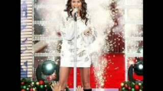 """Miley Cyrus """"Santa Claus Is Coming To Town"""" With Lyrics"""