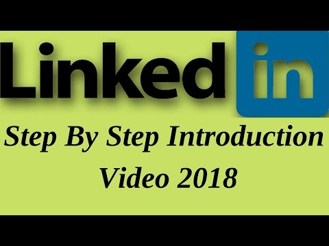 linkedin introduction video step by step tutorial 2018