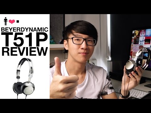 Beyerdynamic T51P Portable Headphone Review