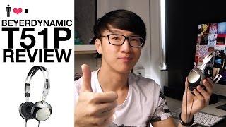 Beyerdynamic T51P Portable Headphone Review