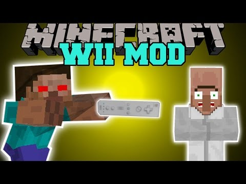 Minecraft: WII MOD (CONTROL MOBS, EXPLOSIONS, & TIME CONTROL!) Mod Showcase