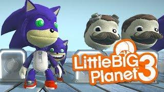 LittleBIGPlanet 3 - Sonic the Hedgehog Movie Costumes - Sonic DLC [SHAZAM8217] - PS4