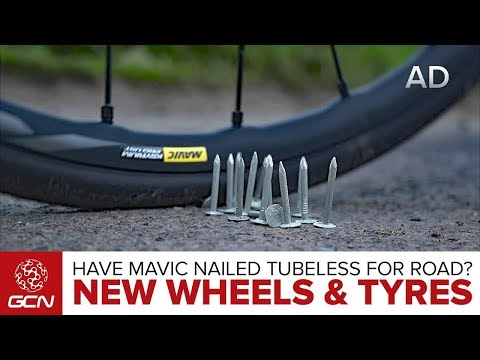 Have Mavic Nailed Tubeless For Road? New Wheels And Tyres