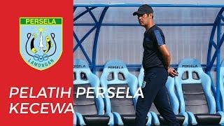 Kekecewaan Pelatih Persela Lamongan ketika Kalah dari PSIS Semarang