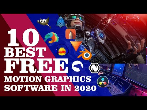 10 Best FREE Motion Graphics Software in 2020