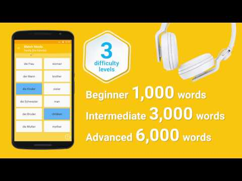 Video of Learn German 6,000 Words