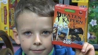Piraten Kapern (Amigo) - ab 8 Jahre - Elias könnte es stundenlang spielen!