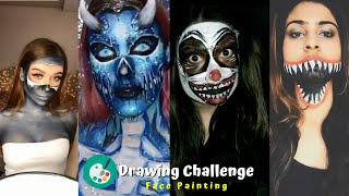 How To Properly Do Face Painting, Body Paint(painting) Compilation From Tiktok