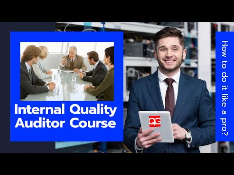 Internal Quality Auditor Course - YouTube