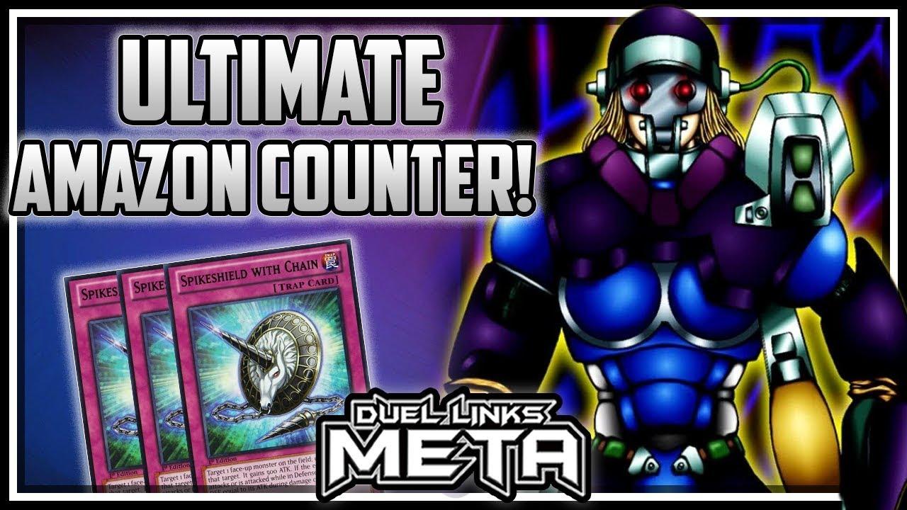 The Ultimate Amazon Counter! [Yu-Gi-Oh! Duel Links] - YouTube